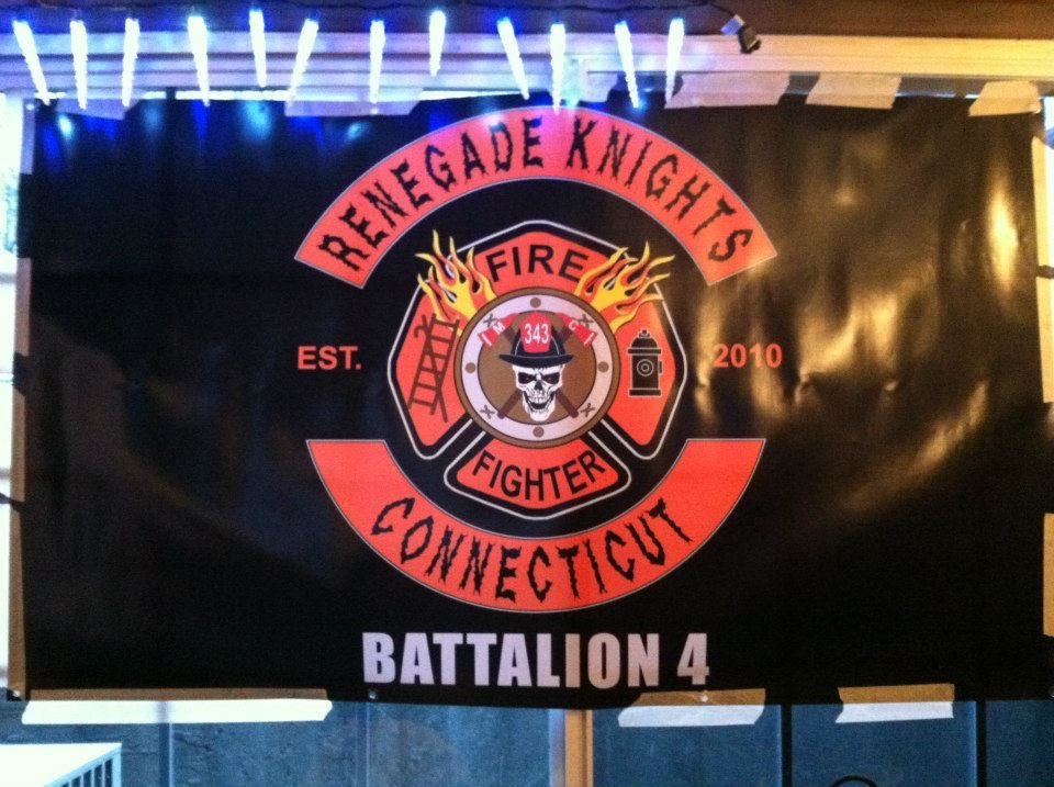 Andrew Boraski, President of Battalion 4, Renegade Knights Fire Fighter Motorcycle Club